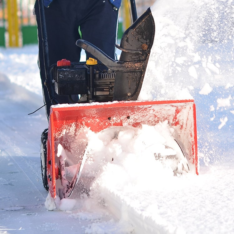 Snow Blowing Service
